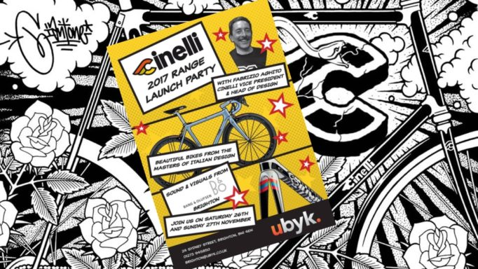 Cinelli have always had a strong graphic design. Take a browse through their website and see