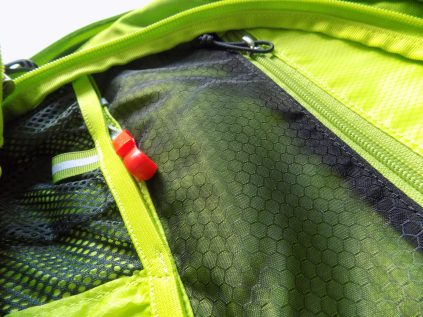 The internal tool pouch keeps your tools away from your stuff