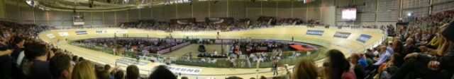 You can't beat the thrill of a track meet, perfect for spectators on a cold winters night. Photo courtesy of Cake Rider