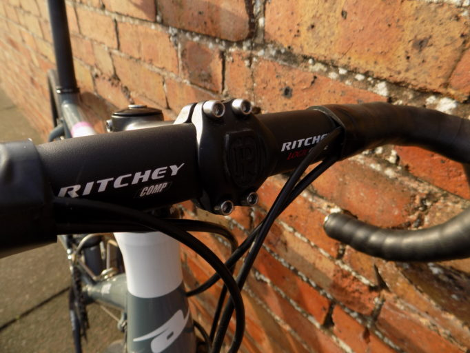 Ritchey Comp components  do their job with no fuss