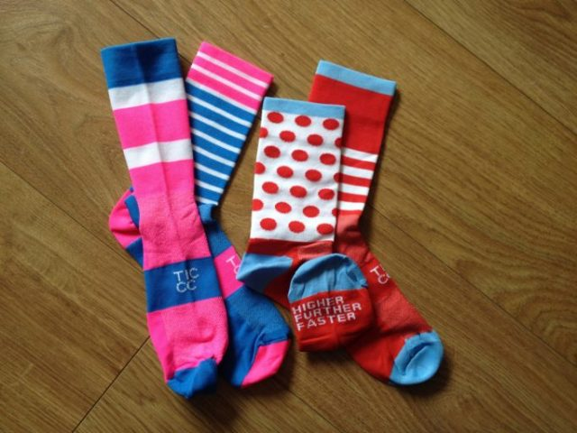 The socks in this preview are not your regular boring socks, they are This Is Cambridge socks.