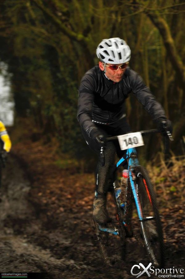First outing for the Velotec Elite jacket was a wet and cold CX Sportive, perfect testing ground. Photo courtesy of Rob Barker