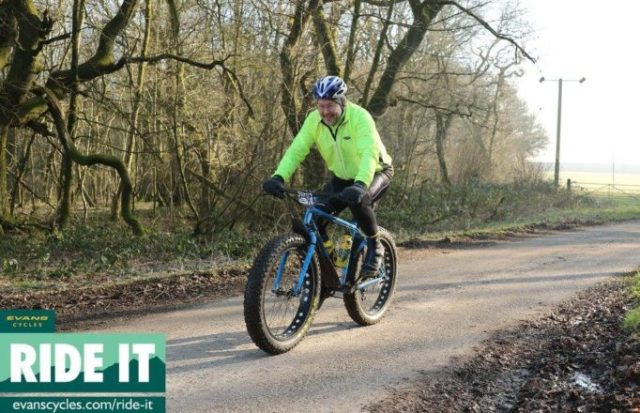 Bike and tyre choice is up to you on a Sportive Cross ride