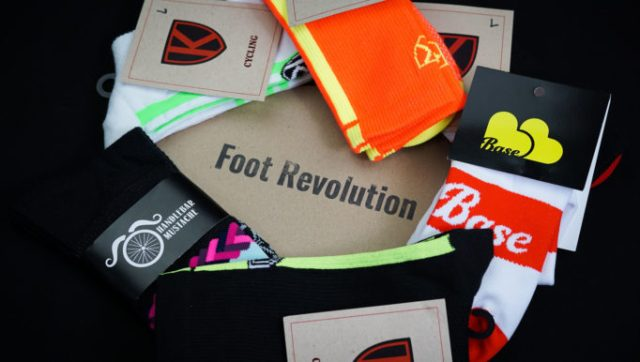 Foot Revolution will deliver new socks to your door every month