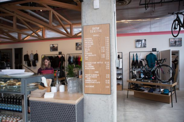 Rapha Seattle Clubhouse
