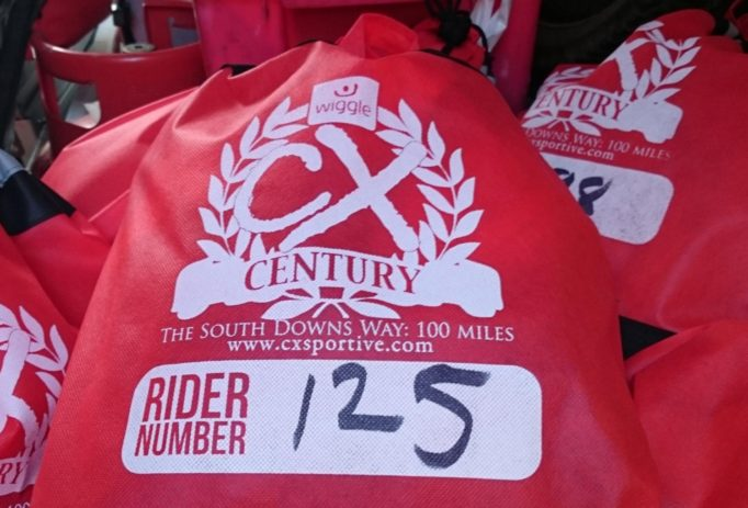 The organisers will carry you bags to the finish