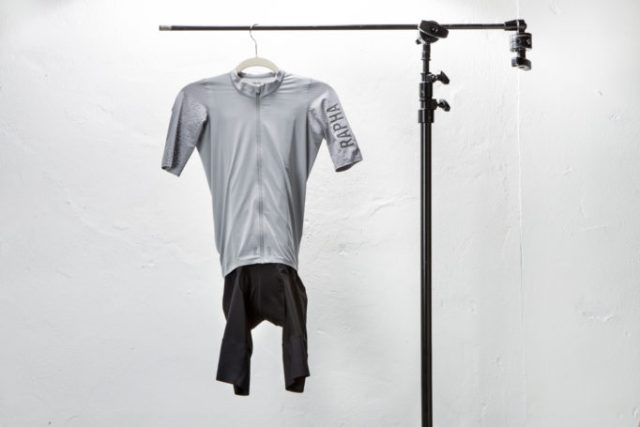 The Rapha Pro Team Aero Jersey and bibshorts