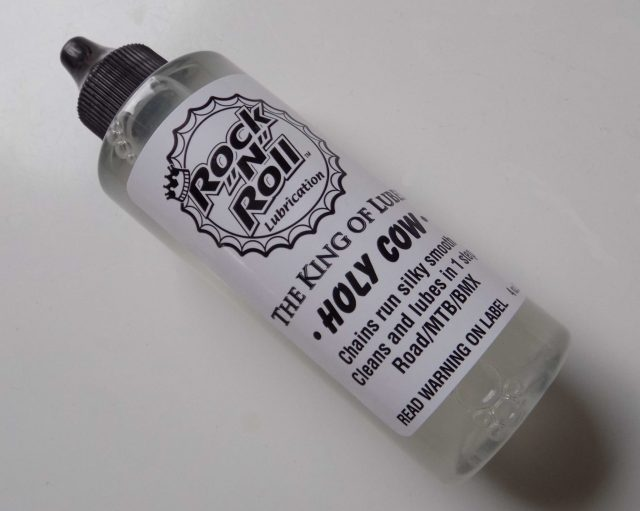 Holy Cow is a wet lube that claims to be as clean as a dry