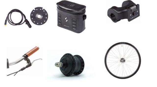 The Swytch setup is a simple and cheap way to get an eBike