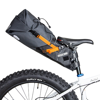 You need 14cm of seatpost to attach the Ortlieb Seat-Pack