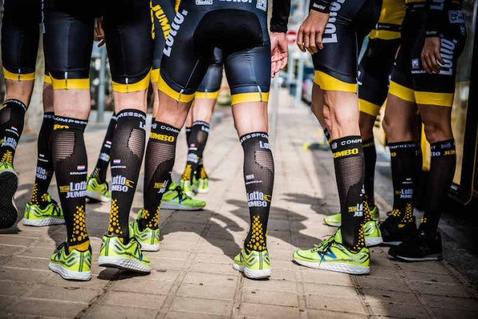 Many Pro teams use Compressport products