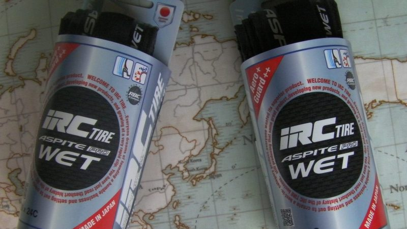 IRC Aspite Pro WET Tyre Review