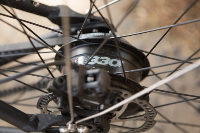 The NuVinci continuously variable rear hub