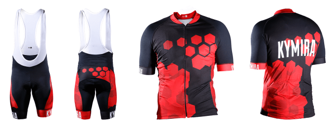 The KYMIRA Sport PrO2 cycle clothing