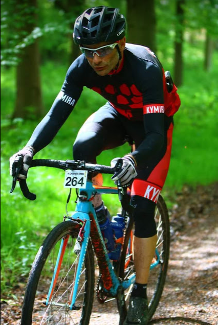 The Kymira Sport PrO2 Cyclewear outfit in action at the Bucks Off Road Classic