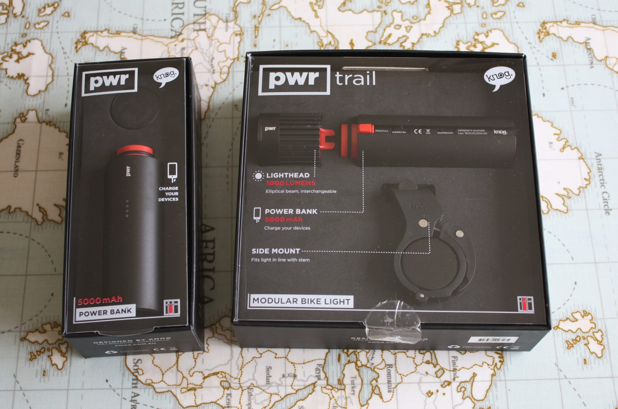 KNOG PWR Trail bike light Preview