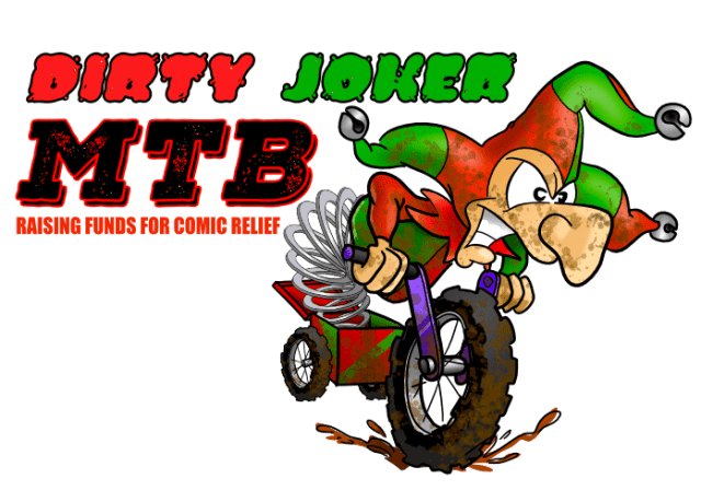 The Dirty Joker MTB ride is hoping to raise £10,000 for Comic relief