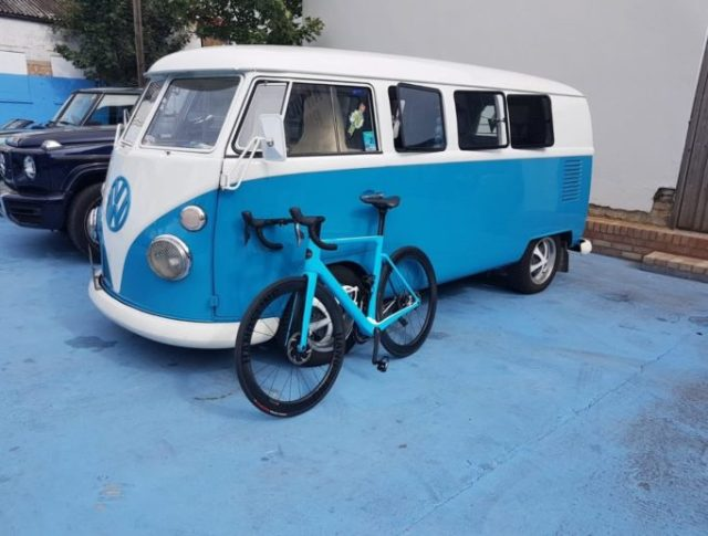 Handsling VW Camper Bike
