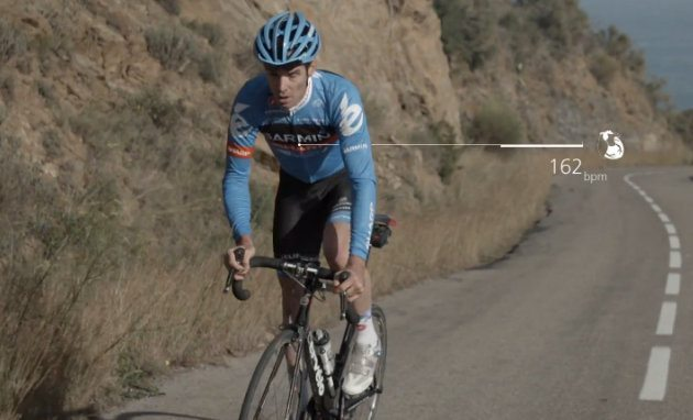 David Millar Garmin Sharp Edge 810