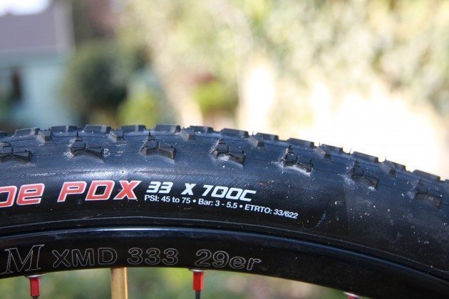 Clement Crusade PDX tyre
