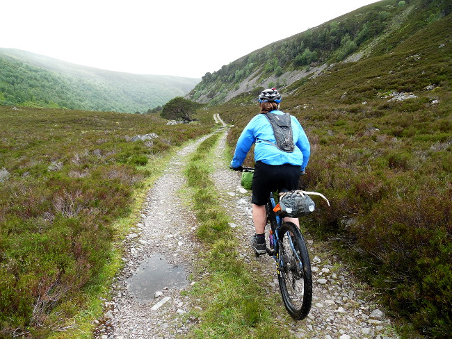 Bikepacking in the Cairngorms
