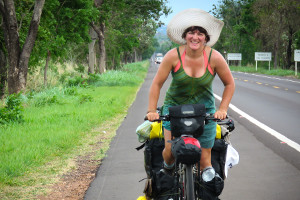 Ishbel (World Bike Girl) - Cycle Touring Festival