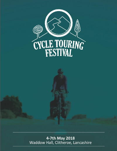 2018 Cycle Touring Festival - Promotional flyer
