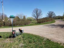 If you look at the sign on the left, you'll see it's called Great River Road.