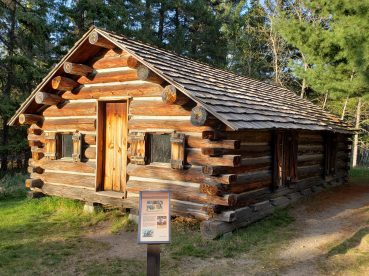 This is a rebuilt store, from the ealry days of Itaska State Park.