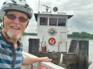 My first ferry ride of the day, fun!