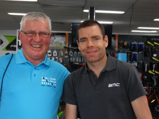 Geoff and Cadel