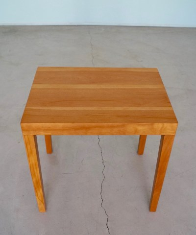 End Table Side Table Refinished In Natural Cyclic Furniture - Natural cherry side table