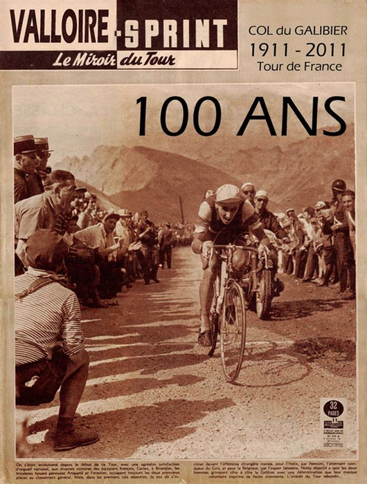 Col Du Galibier Tour De France : galibier, france, Galibier, Brief, History, Cycling, Challenge