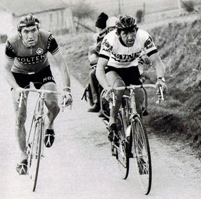Frans Verbeeck vs Eddy Merckx