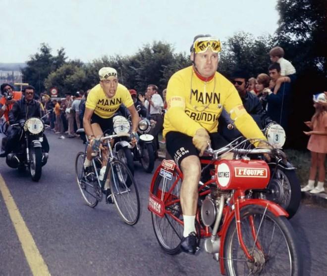 Herman Van Springel at 1970 Bordeaux-Paris