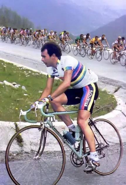 Moreno Argentin at the 1987 Giro d'Italia
