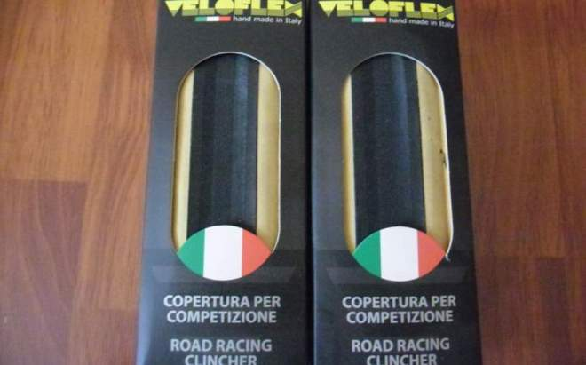 Veloflex Master 700x23c clincher tires - Handmade in Italy