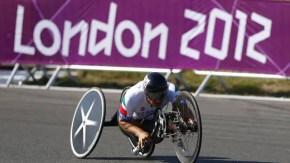 Alex Zanardi wins paralympics handcycle gold