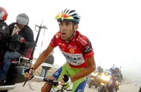 Vincenzo Nibali, Vuelta a España 2010, Bola del Mundo climb.