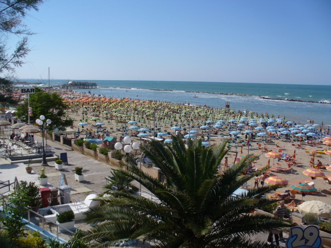 Gabicce Mare beach