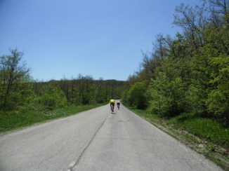 Cycling Tour in Italy, 2nd day, downhill begins