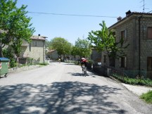 Cycling Tour in Italy, 2nd day, another comune
