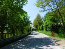 Cycling Tour in Italy, 2nd day, roads