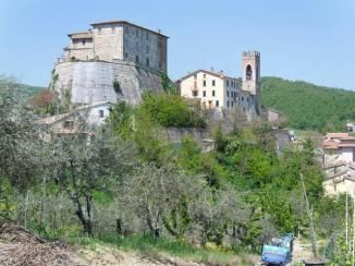 Cycling Tour in Italy, 2nd day, a monastery