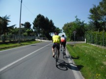 Cycling Tour in Italy, 2nd day begins