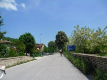 Cycling Tour in Italy, 3rd day, road to Fano