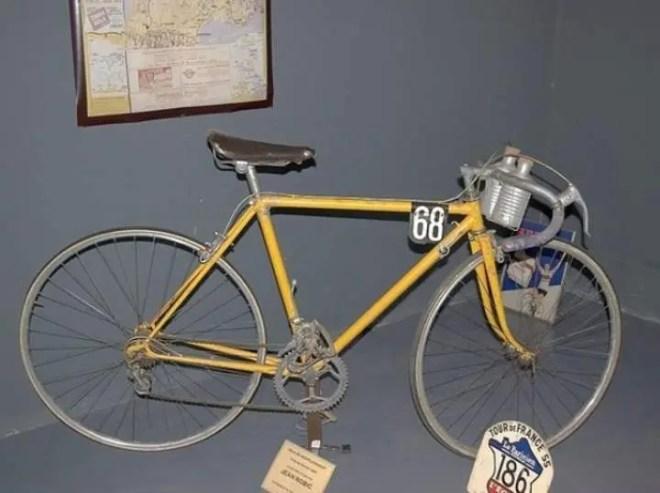 Jean Robic's Tour de France 1947 winner bike