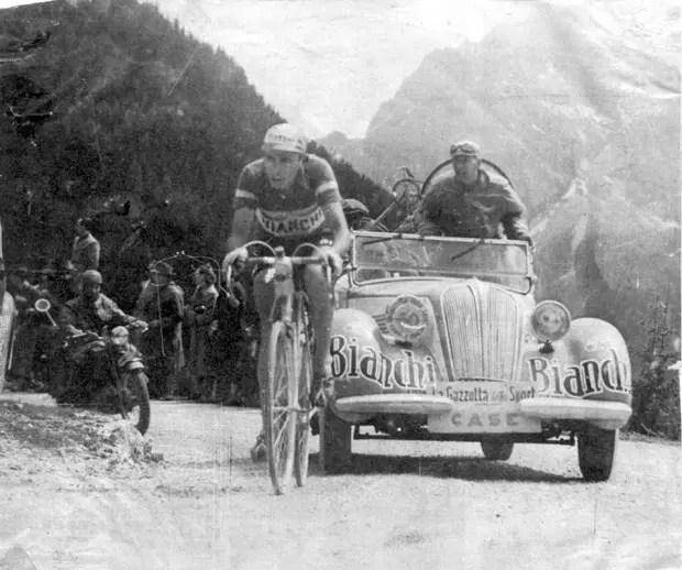 Fausto Coppi at Giro d'Italia 1949