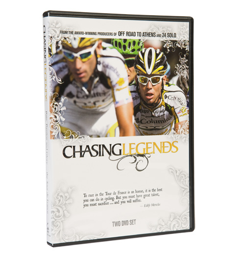 Chasing Legends DVD (2010)