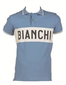 Bianchi classic/retro leisure short sleeve jersey
